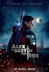 Alex, le destin d'un roi: Alex est un écolier ordinaire de 12 ans dont la vie va être bouleversée par la découverte de l'épée mythique Excalibur.