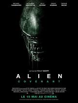 Alien: Covenant (déconseillé au -12ans): Les membres d'équipage du vaisseau Covenant, à destination d'une planète située au fin fond de notre galaxie, découvrent ce qu'ils pensent être un paradis encore intouché.