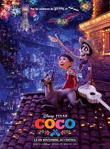 Coco: Depuis déjà plusieurs générations, la musique est bannie dans la famille de Miguel. Un vrai déchirement pour le jeune garçon dont le rêve ultime est de devenir un musicien aussi accompli que son idole, Ernesto de la Cruz.