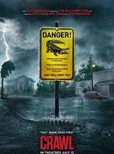 Crawl: Quand un violent ouragan s'abat sur sa ville natale de Floride, Hayley ignore les ordres d'évacuation pour partir à la recherche de son père porté disparu.