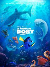 Le Monde de Dory : Dory, le poisson chirurgien bleu amnésique, retrouve ses amis Nemo et Marlin. Tous trois se lancent à la recherche du passé de Dory.