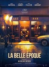 La Belle époque: Victor, un sexagénaire désabusé, voit sa vie bouleversée le jour où Antoine, un brillant entrepreneur, lui propose une attraction d'un genre nouveau