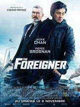 The Foreigner (déconseillé aux moins de 12 ans): A Londres, un modeste propriétaire de restaurant de Chinatown va tenter de retrouver les terroristes irlandais responsables de la mort de sa fille.