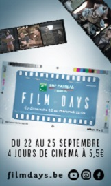 Film day: BNP PARIBAS FORTIS FILM DAYS 2017Les émotions que vous vivez pendant les BNP Paribas Fortis FILM DAYS ? Une bonne moitié de réalité, une bonne moitié de fiction… et tout ça, à moitié prix !