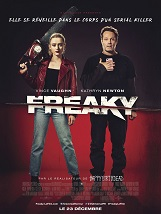 Freaky: Millie Kessler, une adolescente de 17 ans, occupée à faire bonne figure dans son très élitiste lycée, Blissfield High, devient la nouvelle cible du Boucher, un tueur en série tristement notoire.