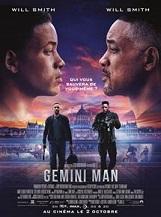 Gemini Man: Henry Brogan, un tueur professionnel, est soudainement pris pour cible et poursuivi par un mystérieux et jeune agent qui peut prédire chacun de ses mouvements.