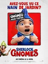 Sherlock Gnomes: Savez-vous ce que font les nains de jardin quand nous avons le dos tourné ?  Ils s'amusent et préparent l'arrivée du Printemps.