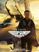 """Top Gun: Maverick: Après avoir été l'un des meilleurs pilotes de chasse de la Marine américaine pendant plus de trente ans, Pete """"Maverick Mitchell continue à repousser ses limites en tant que pilote d'essai."""