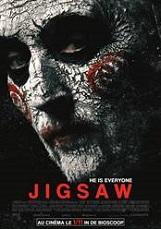 Jigsaw (interdit aux moins de16 ans): Après une série de meurtres qui ressemblent étrangement à ceux de Jigsaw, le tueur au puzzle, la police se lance à la poursuite d'un homme mort dpuis plus de dix ans.