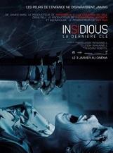 Insidious : la dernière clé (déconseillé aux moins de 12 ans): Le quatrième volet de la saga Insidious.