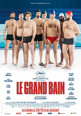 le grand bain: C'est dans les couloirs de leur piscine municipale que Bertrand, Marcus, Simon, Laurent, Thierry et les autres s'entraînent