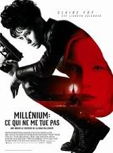 Millenium : Ce qui ne me tue pas: Un nouveau volet de la saga emmenée par la hackeuse Lisbeth Salander.