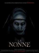 La Nonne (interdit aux moins de 16 ans): Quand on apprend le suicide d'une jeune nonne dans une abbaye roumaine, la stupéfaction est totale dans l'Église catholique.