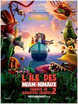 Tempête de boulettes géantes 2 - L'île des Miam-nimaux(3D)