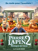 Pierre Lapin 2 : Panique en ville: Béa, Thomas et les lapins forment désormais une famille recomposée, mais Pierre a beau faire tout son possible