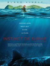 Instinct de survie - The Shallows: Nancy surfe en solitaire sur une plage isolée lorsqu'elle est attaquée par un grand requin blanc. Elle se réfugie sur un rocher, hors de portée du squale.