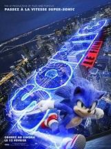Sonic le film: L'histoire du hérisson bleu le plus rapide du monde qui arrive sur Terre, sa nouvelle maison.