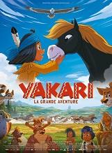 Yakari, le film: Alors que la migration de sa tribu est imminente, Yakari le petit Sioux part vers l'inconnu pour suivre la piste de Petit-Tonnerre, un mustang réputé indomptable.